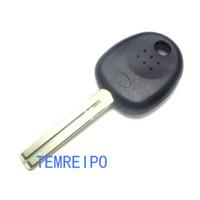 clave de transpondedor hyundai en blanco al por mayor-Cáscara de la caja de la llave del espacio en blanco del microprocesador del transpondor para la cuchilla Tibby de la llave de ignición Hyundai