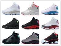 zapatos de baloncesto de china envío gratis al por mayor-2019 Barato Nuevo 13S China zapatos de baloncesto para hombre zapatos deportivos al aire libre de calidad superior para hombres muchos colores EE. UU. 8-12 Envío de gota gratuito