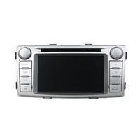 радио для toyota hilux оптовых-Автомобильный DVD-плеер для Toyota Hilux 2012 6.2 inch Andriod 8.0 с GPS, рулевым колесом, Bluetooth,радио
