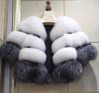 vêtements en fourrure pour femmes achat en gros de-Les nouvelles femmes d'hiver de mode Vêtements Fox Faux manteau de fourrure manches longues manteau femmes Femme d'hiver Pardessus