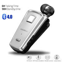 fineblue mini drahtlose bluetooth großhandel-Fineblue F980 Bluetooth Kopfhörer In-Ear Freisprecheinrichtung Mini Wireless Headset Wear Clip Auriculares mit Mikrofon