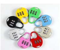 Wholesale Hot Digit Dial Combination Code Number Lock Padlock For Luggage Zipper Bag Backpack Handbag Suitcase Drawer SN2156