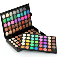 Wholesale nude eye shadow kits for sale - Group buy Professional Makeup Eye Shadow Shimmer Matte Eyeshadow Palette Set Kit Colors Cosmetic Nude eyeshadow DHL