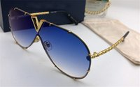 Wholesale handmade sunglasses - Best-selling style L0898 pilots frameless frame exquisite handmade top quality designer brand sunglasses UV400 protection Drive sunglasses
