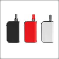 Wholesale box v1 - Authentic Komodo C5 Thick Oil Cartridges Vaporizer Box Mod 400mAh Preheat Battery 510 Thread Fit for Liberty V1 V5 V9 X5