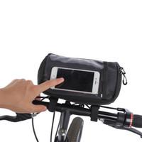 sacoche de vélo achat en gros de-ROSWHEEL 3L Vélo Sacs Cyclisme Vélo Cadre Mobile Téléphone Sac VTT Route Vélo Case Pouch Titulaire Sacoche