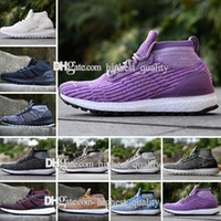 2018 Hiver Ultra boost ATR Mid Triple Noir blanc Hommes Chaussures de Course Trace Kaki Oreo ultraboost Womens casual Sport sneakers taille 36-45