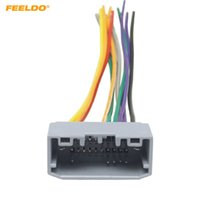 wholesale oem wiring harness online - feeldo car stereo wiring harness  adapter female plug for jeep