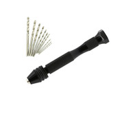 прецизионные мини-инструменты оптовых-0.6-2.0 мм 21 шт. спиральные сверла точность контактный тиски мини ручной сверло набор вращающихся инструментов