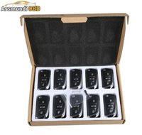 Wholesale Skoda Remote - 10pcs x DS Wireless Universal Remote Key 3 Buttons For VVDI2 Key Programmer And VVDI Prog Free Shipping