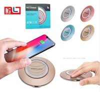 Wholesale wireless ufo - UFO style Qi Support Wireless Charger fast charging speed For Samsung Galaxy S8 Iphone 8 with Retail Box