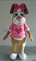 köpek kostüm çocuğu toptan satış-sevimli köpek maskot kostüm Ücretsiz Kargo Yetişkin Boyutu, köpek maskotu peluş oyuncak karnaval parti maskot fabrika satış kutlamaktadır.