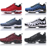 Wholesale pa lights - 2018 Men Requin Pas Cher Fashion Tn2 Running Shoes Sales TOP Quality AAA Shock absorbing cushion jogging shoes Size 40-46