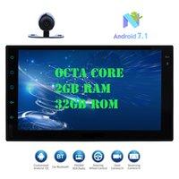 portugiesisches pad großhandel-Eincar Android 7.1 Auto Pad Tablet PC Radio Stereo HeadUnit Octa-Core 2 GB + 32 GB Autoradio Doppel-Din GPS Navi In Dash 7