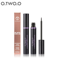 delineador de ojos de color azul al por mayor-O.TWO.O Liquid Eyeliner Cosmetics Long-Durating Ultimate Waterproof Eye Liner Party Eyes Makeup Blue Brown Purple Color