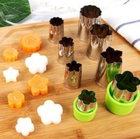 Wholesale flower shaped cookie cutters for sale - Group buy Stainless Steel Puzzle Fruit Vegetable Cutter Set Kitchen Tools Mold Flower Shape Cutter Cookie Fondant Accessories Sets OOA4632