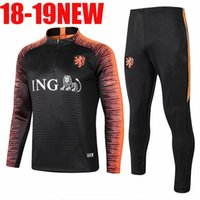 AA+ 2018 19 netherlands soccer jersey home orange 18 19 Holland national  team JERSEY memphis SNEIJDER V.Persie Dutch football tracksuit f79c5d544