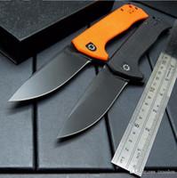 faca de jade venda por atacado-ZT Tolerância Zero 0804 ZT0804 preto orange jade 3 cores faca flipper G10 lidar com Faca Dobrável 1 pcs freeshipping