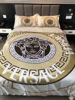 3-bett-bettwäsche großhandel-Cotton Goddess Print Bettwäsche Set 4 Stück Bettlaken Europa und Amerika Bettwäsche Anzug Business Hot Sell Quilt Cover