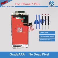 Wholesale iphone parts free shipping - Wholesales For iPhone 7 Plus LCD Display Touch Screen 100% Tested Working Replacement Parts+Repair Tools With Free Shipping