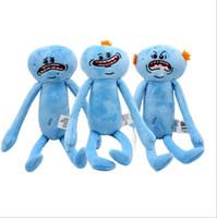 große puppen zum verkauf großhandel-Großer Umsatz 25CM T479 Rick und Morty glücklich und traurig Meeseeks Puppe Plüschtiere Kinder Cartoon Cartoon Spielzeug Geschenke billig Hersteller Großhandel