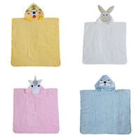 Wholesale kids robes for sale - Group buy Cartoon unicorn bathrobe Kids Robes animal Bath Towel new Nightgown Children Towels Hooded bathrobes cm C3830