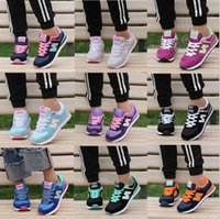Wholesale high joker - High quality new women men's South Korea Joker shoes letters breathable running shoes sneakers Casual Walking Hiking Shoes