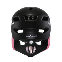 helmet ce 2018 - Women Men Child CE Safety Cycling Helmet High Quality Mouth Guard Mountain MTB DH Bicycle Helmet & Bike