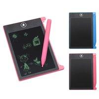 ingrosso vernice lcd-2 colori 4.4 pollici LCD scrittura disegno tavoletta elettronica scrittura a mano pad pittura con stilo per regalo per bambini