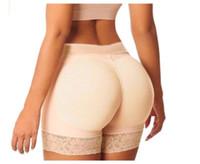 popo bikini toptan satış-Sıcak Moda Kadınlar Seksi Lady Vücut Şekillendirici Butt Kaldırıcı Şekillendirici Külot Shapewear Butt Lift Kontrol Shaper Boyshorts Kısa Knicker