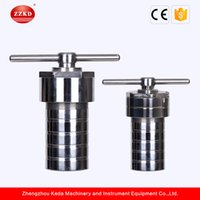 Wholesale Hydro Steel - ZZKD 0.4-1L Hydrothermal Synthesis Reactors with ptfe liner and stainless steel shell Hydro Thermal Reactors Price Teflon Lined Autoclave