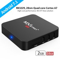 Wholesale android tv boxes rockchip for sale - NEW TV BOX MXQ PRO plus Rockchip RK3229 Quad Core Android TV BOX With Customized addons Smart K Media Player