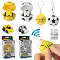 Wholesale remote control big toy cars for sale - Group buy Cartoon G Mini soccer basketball remote control Car Toys Athletic football RC car for Kids car model Christmas gift C4851