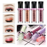 Wholesale roll eyes for sale - Rolling Beads Eyeshadow Powder Shimmer Contour Party Highlights Makeup Glittering Monochrome Eye Shadow Colors Stage Makeup
