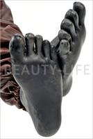 ropa de cama masculina al por mayor-Hot Sexy Product New Male Female 100% Natural Latex Five Toes Calcetines Pies de la envoltura Bondage Adulto BDSM Fetish Sex Bed Juegos de Juguete 4 Color