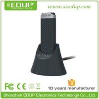 usb wifi adaptador edup venda por atacado-EDUP EP-AC1609 Adaptador WiFi USB 2.0 de banda dupla 2T2R 2.4GHz / 5.8GHz de 1200Mbps