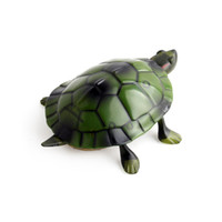 Wholesale toys for pranks - Hot Sale Remote Tortoise Toy Gift Prank Insects Funny Remote Control Turtle Kid Toy Infrared remote control turtle Toys For Children