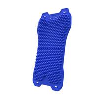 blaue taillenunterstützung großhandel-Blau Schwarz Autositz Rückenmassage Pad Soft Stuhl Sitzkissen Sommer Atmungs Ventilate Taille Zurück Unterstützung für Universal