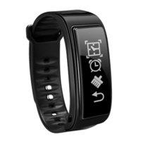 сердце наушников оптовых-Для iPhone Samsung смартфонов Y3 смарт-часы браслет 2 в 1 Bluetooth наушники гарнитура монитор сердечного ритма хорошее качество