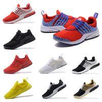 Wholesale Men Safari - wholesale high quality Air Presto Gold Safari Running shoes Men blacke White Oreo Brutal Honey yellow red Sport sneakers Shoes eur 40-46