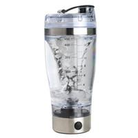 protein karıştırıcı şişe toptan satış-450 ml Elektrikli Otomatik Protein Shaker Taşınabilir Hareketi Karıştırma Mikser Vortex Tornado BPA Ücretsiz Benim Su Şişesi Ücretsiz Kargo