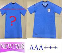 Wholesale cheap football team shirts - Best 2018 World Cup Soccer Jerseys club home uniforms for cheap Diego - Fran Suarez Football men Shirt printed team kits l mpada polyester