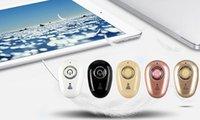 mejor teléfono inteligente android al por mayor-S650 Mini Auriculares Bluetooth Inalámbricos Auriculares Deportivos Deportivos Manos Libres Auriculares Auriculares para iOS / Android teléfonos inteligentes Mejor precio