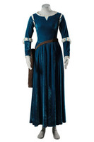 Wholesale brave cosplay for sale - Brave Princess Gown Merida Cosplay Dress and Quiver Cosplay Costume