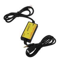 arabirim çipi usb toptan satış-Araba MP3 Ses Arabirimi CD Adaptörü SD AUX USB Veri Kablosu Adaptörü Amplifikatör Çip ile Toyota Acura için Sanal CD Değiştirici Bağlayın