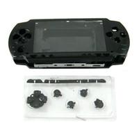 controlador inalámbrico original de xbox al por mayor-Reparación de vivienda completa Mod Case + Buttons Replacement para Sony PSP 1000 Console