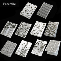 Wholesale cake decorating embossing for sale - Group buy Hot sale DIY creative Cake decorating mold windmill flower pentagram embossing templates Irregular cake mold T3I0189