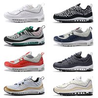 Wholesale sneaker shoes uk online - 98 s Running Shoes QS Cone Gundam South Beach UK GMT Tour Yellow Gym Red Blue Sport Sneakers Size