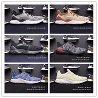Wholesale Alpha Leather - Wholesale Cheap Hot Sale Alphabounce EM Boost 330 Running Shoes Alpha bounce Sports Trainer Sneakers Man Shoes Size36-45