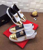 ingrosso piede di cuoio-NEWNEW High-end Zapatos casuales in pelle per il tempo libero scarpe da uomo coprono piede singola scarpa di pelle di pecora grande marchio Walkin gioventù pelle bovina, scarpe da ...